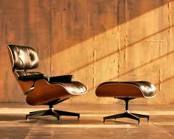 Eames Leather Lounge Chair Furniture Brown Chairs Ideas With Eames Chair Replica And Leather