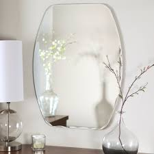 mirror oval bevelled mirror terrific oval beveled mirror wood