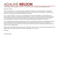 ending to a cover letter best retail assistant store manager cover letter examples livecareer