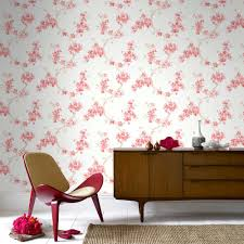 Pink Removable Wallpaper by Graham U0026 Brown Mercutio Red Removable Wallpaper 32 484 The Home
