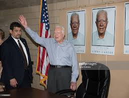 jimmy carter signs copies of