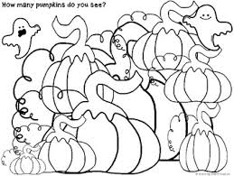 autumn halloween fun count and color pages by growing smart readers