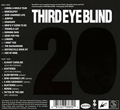 Third Eye Blind Latest Album Third Eye Blind Third Eye Blind 20th Anniversary Edition 2cd