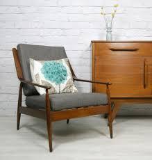Teak Armchair Vintage Retro Teak Mid Century Danish Style Armchair Chair Eames