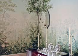 simes studios mural walls painterly garden mural wall