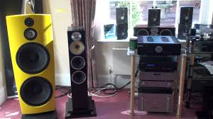 jamo home theater system jamo r909 uk national audio show 2010 real binaural sound youtube