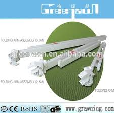 Retractable Awning Accessories Powder Coating In White Aluminum Awning Accessories For Restaurant