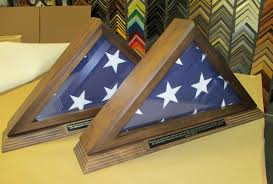 Triangle Flag Case Flag Boxes