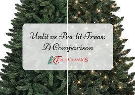unlit christmas trees unlit vs pre lit artificial christmas trees a comparison tree