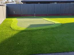 a backyard putting green that needs to be seen