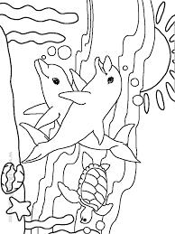 free printable sea animals coloring book kids sea animals