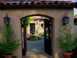 santa barbara california before after spanish hacienda photos