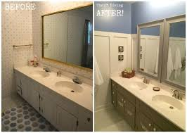 Before And After Small Bathrooms Adorable 10 Small Bathroom Makeovers Diy Decorating Inspiration