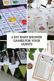6 simple diy baby shower games for your guests shelterness