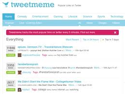 Tweet Meme - tracking twitter retweets using tweetmeme