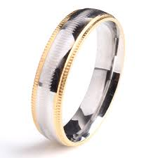 Steel Wedding Rings by Compare Prices On Mens Gear Wedding Ring Online Shopping Buy Low