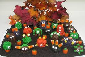 Halloween Monster Cakes by Doodles And Doilies Monster Cake Balls