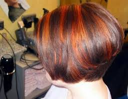 the bob haircut style front and back medium stacked hairstyles front back photos short wavy