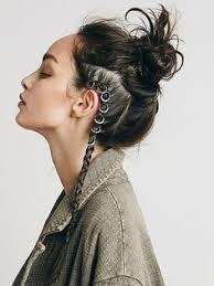 celtic warrior hair braids shieldmaiden instagram lunaintheforest hair pinterest