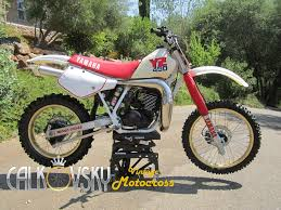 restored vintage motocross bikes for sale 1987 yamaha yz490 vintage dirt bike motocross mx ahrma motorcycle