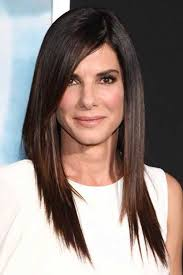 no part hairstyles love these 20 sandra bullock hairstyles with pictures