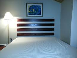 easy headboard ideas diy how to make a floating headboard for cheap and easy