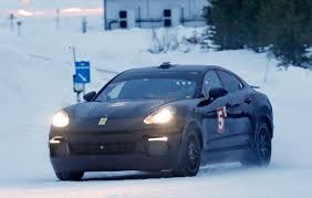 suv porsche porsche cayenne coupe meet the hunkered down electric suv by car
