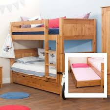 Stompa Bunk Beds Stompa Classic Honey Pine Bunk Bed With Trundle Bed Including