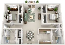 Two Bedroom Floor Plans Two Bedroom Floor Plans Charleston Hall Apartments