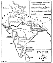 British India Map by British India To 1857 Thinglink