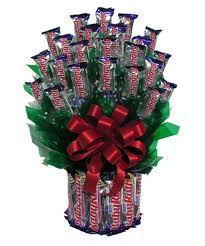 chocolate baskets all baby ruth candy bouquet hayneedle