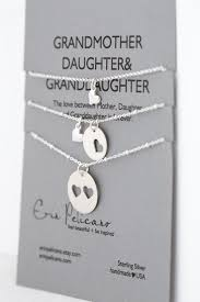 grandmother granddaughter necklace grandmother granddaughter necklace set grandmothers