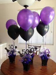 birthday balloons for men these are centerpieces i made for my and his s 50th