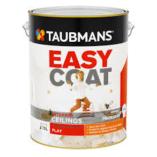 taubmans easycoat ceiling paint 4l white bunnings warehouse
