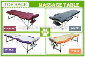Milking Tables 2 Section Portable Massage Table With Free Carry Case Bed