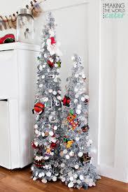 mantel christmas trees christmas lights decoration
