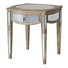 how to decorate mirrored accent table wigandia bedroom collection