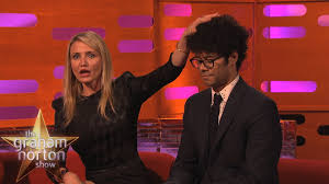 red pubic hair on women cameron diaz defends pubic hair the graham norton show youtube