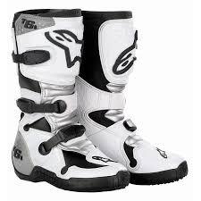 motocross gear alpinestars tech 6s kids motocross boots white dirtbikebitz