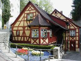 houses bodensee house europe red cute images for hd 16 9 high