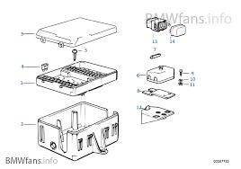 fuse box bmw 3 u0027 e30 318i m10 usa