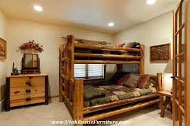 Log Bunk Bed Plans Rustic Loft Bed Rustic Slimline And Premium Log Bunk Beds Bunks