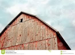 peak german style historic old bank barn stock photo image