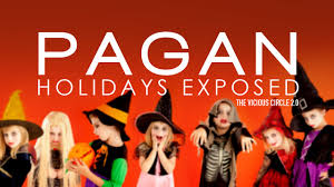 What Is The Origin Of Halloween Christianity Halloween Christmas Easter All Pagan Holidays Exposed Tvc2 0