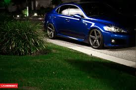 lexus is vossen need 4 speed motorsports lexus is f with vossen cv3