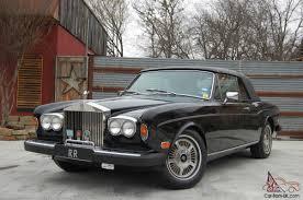 bentley corniche convertible rolls royce corniche ii convertible black beige well