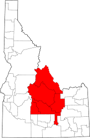 Map Of Idaho Cities Central Idaho Wikipedia