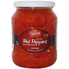 gefen kosher gefen premium sliced peppers 24 oz passover westernkosher
