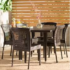 six person patio dining sets you u0027ll love wayfair