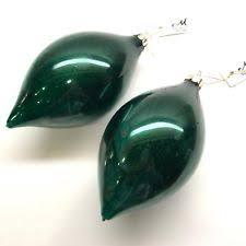 glass teardrop ornaments ebay